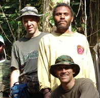 Woetzel and Guessman in Papua New Guinea in 2004